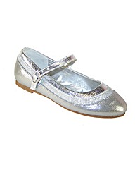 Sparkle Club Silver Shimmer Shoes