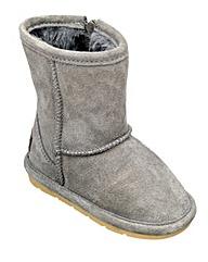 Chipmunks Grey Suede  Boot