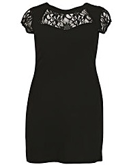 Sienna Couture Lace Top Midi