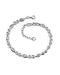 Marquise & Round Cubic Zirconia Bracelet