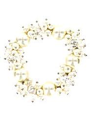Pearl Effect Bead Bracelet