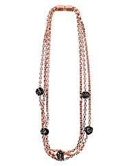 Magnetic Shamballa Style Necklace