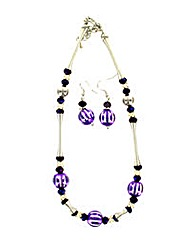 Bauble Style Jewellery Set