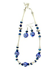 Bauble Style Jewellery Set