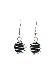 Wire Bauble Earring