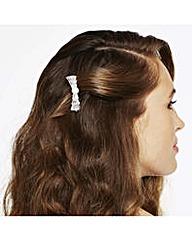 Jon Richard Cubic Zirconia Hair Comb