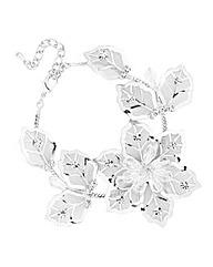 Jon Richard Mesh Flower Bracelet