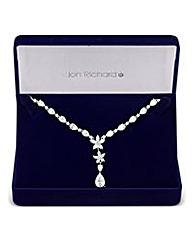 Jon Richard Botanical Drop Necklace