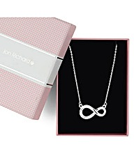Jon Richard Crystal Infinity Necklace