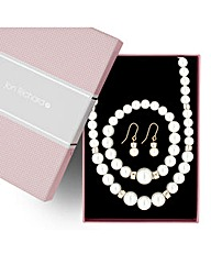 Jon Richard Cream Pearl Trio Set