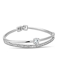 Jon Richard Crystal Bangle Bracelet