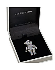 Jon Richard Aurora Borealis Teddy Brooch