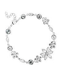 Jon Richard Stone Flower Bracelet