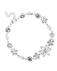 Jon Richard Stone Flower Bracelet