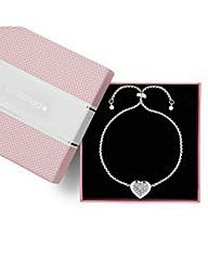 Jon Richard Heart Toggle Bracelet