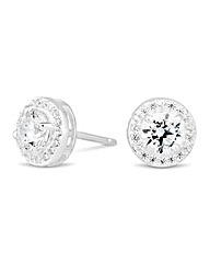 Simply Silver Mini Clara Stud Earring