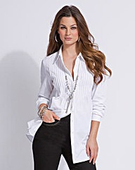 Top to Toe Pintuck Shirt
