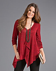 Top to Toe Waterfall Jersey Top