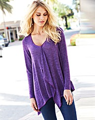 JOANNA HOPE Waterfall Jersey Top