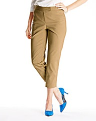 Cotton Sateen Ankle Grazer Trouser