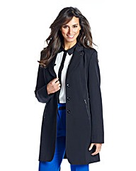 Longline Single breasted Tailored Jacket