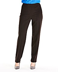 Zip Stretch Trousers Length 31in
