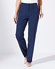 Zip Stretch Trousers Length Regular