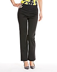 Pack 2 Straight Leg Trousers Extra Short