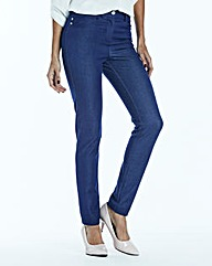 Denim Look Trouser