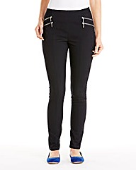 Lorraine Kelly Zip Jeggings