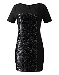 Sequin Panelled Tunic