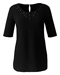 Jewel Jersey Top