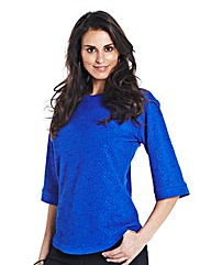 Cobalt Boat Neck Top