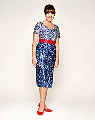 LK Print Dress