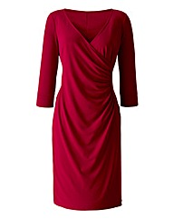 LK Plain ITy Wrap Dress