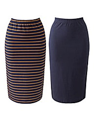 Pack of 2 Tube Skirts