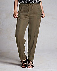 Lyocell Cuffed Trouser - Regular