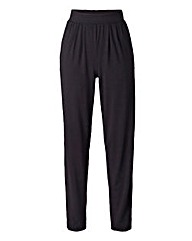 Harem Stretch Jersey Trouser - Reg