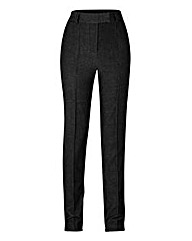 Slim Leg Pintuck Detail Trouser