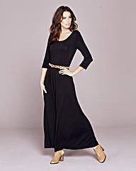 Plain Jersey Maxi Dress