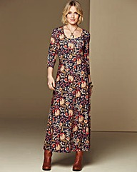 Jersey Paisley Dress 50in
