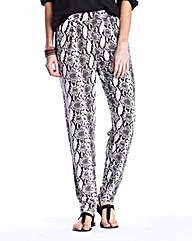 Printed Harem Trousers Length Regular