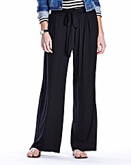 Jersey Wide Leg Trouser Extra Short