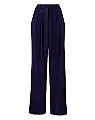 Jersey Wide Leg Trousers Regular
