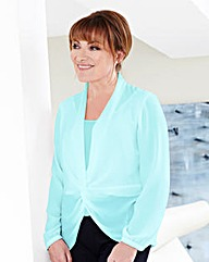 Lorraine Kelly Knot Front Blouse