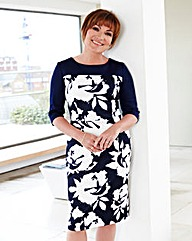 Lorraine Kelly Floral Scuba Print Dress