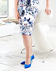 Lorraine Kelly Scuba Print Skirt