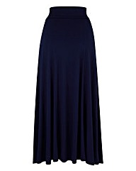 Jersey Panelled Maxi Skirt 32in