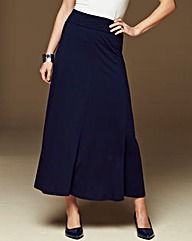 Jersey Panelled Maxi Skirt 29in
