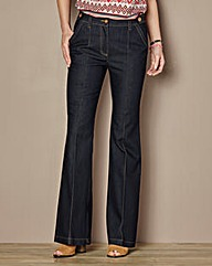 Cotton Kick Flare Jean - Regular